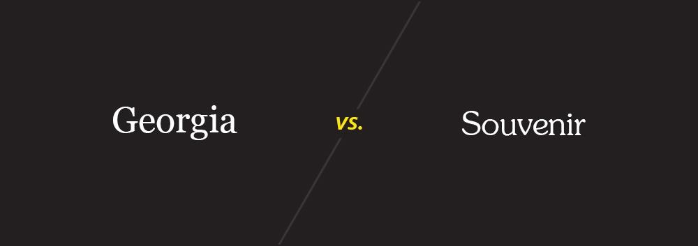 Georgia vs. Souvenir